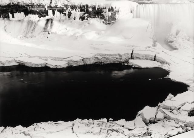 Thomas Joshua Cooper, Along the Frozen Rimtop of Horseshoe Falls—The Niagara Falls Basin and the Niagara River, Niagara Falls, Ontario,...