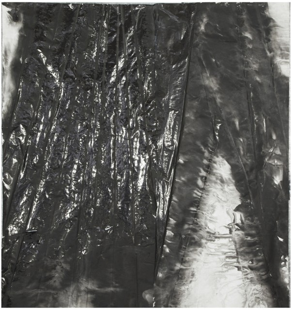 Shaped Reflection 有形的反光, 2015, Ink and acrylic on xuan paper 墨 丙烯 宣纸, 179 x 167 cm