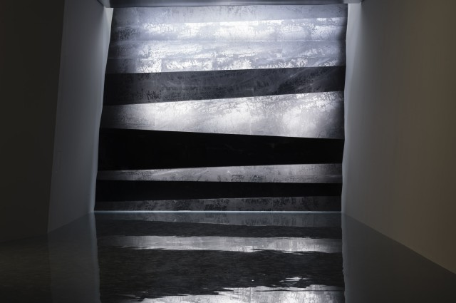 Installation view of Wall of Skies, 2016, Power Station of Art, Shanghai