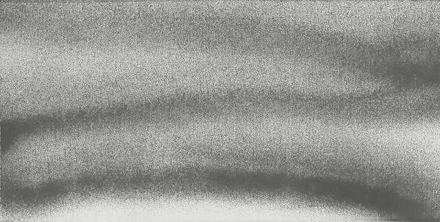 1304, 2013, Ink on paper 纸上水墨, 69 X 136.5 cm