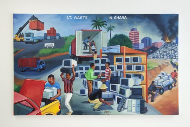 Kings Of Kumasi: New Painting From The Asante Capital