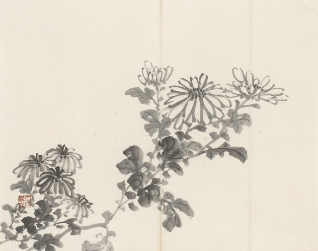 Paintings, Ink paintings from the edo- and meiji-period