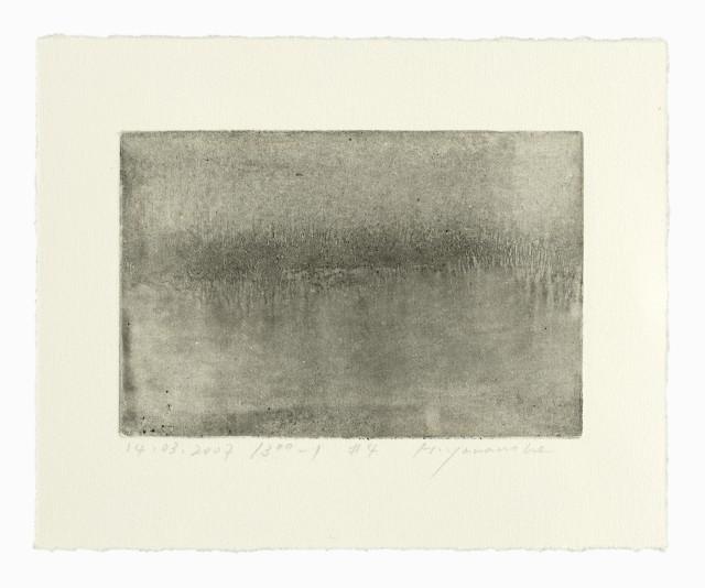 Hideaki Yamanobe, Monotypien und Zeichnungen