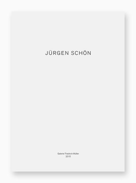 Jürgen Schön, Objekte und Zeichnungen. Galerie Friedrich Müller, 2015