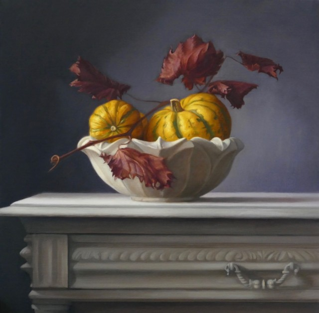 Raquel Alvarez Sardinia MA SWA  Pumpkins  SOLD
