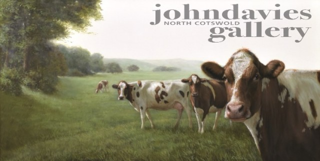 Alexandra Klimas, Cows in a landscape