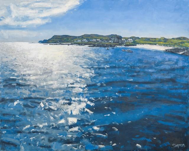 Iona Light, 80 x 100 cm