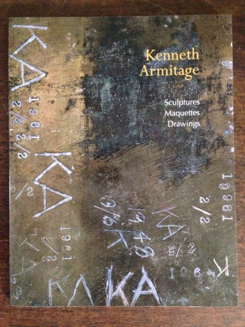 Kenneth Armitage, Sculptures Maquettes Drawings text John McEwan