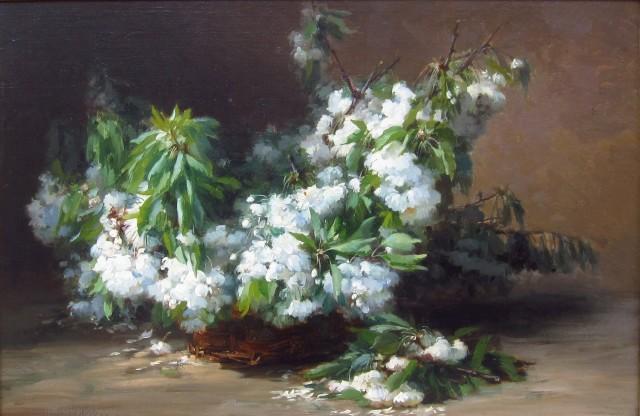 Gabriel Edouard Thurner, Cherry Blossoms