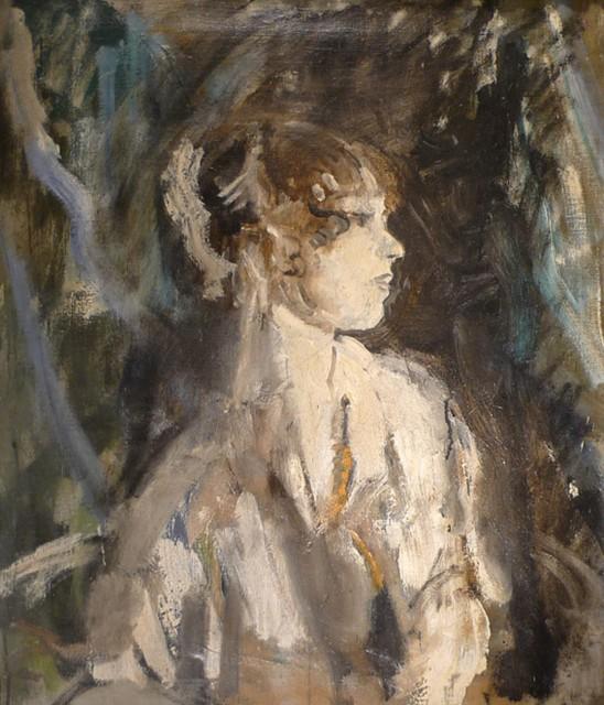 Ambrose McEvoy, Portrait of the ballerina Lydia Lopokova , c.1919