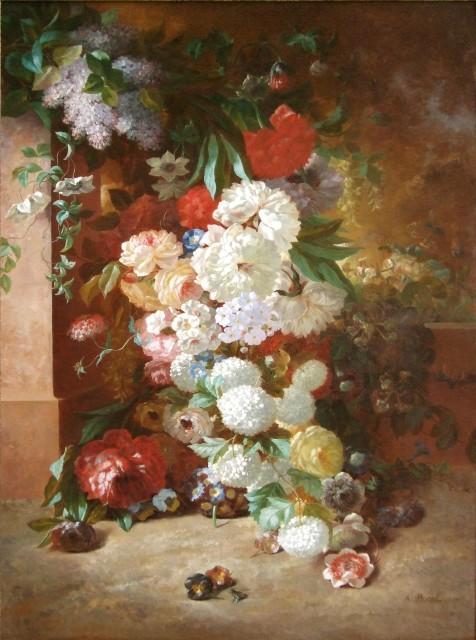 Antoine Pascal, Still life of flowers