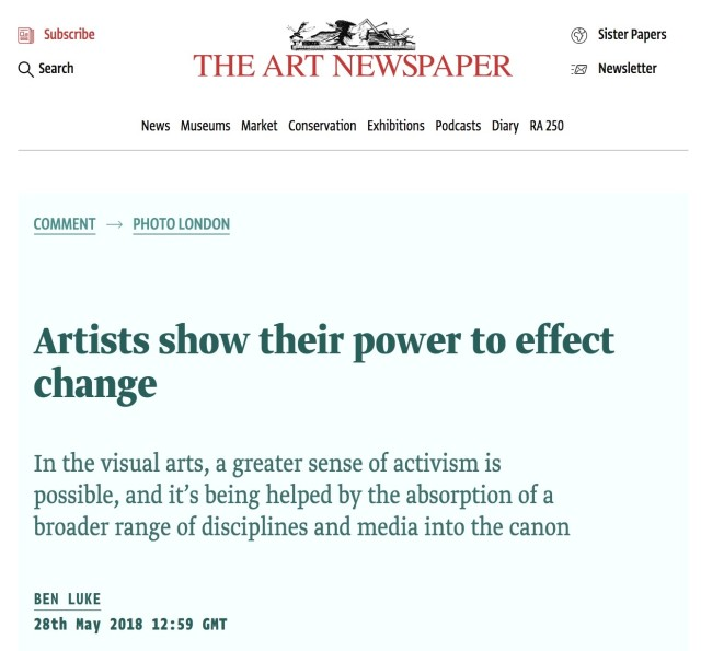 Artists show their power to effect change