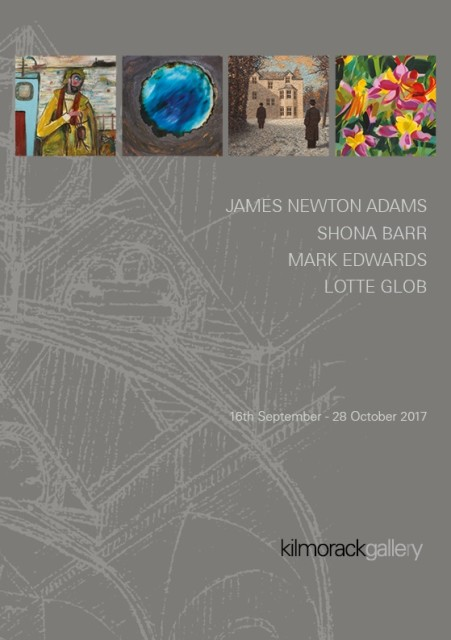 2017 Part three - September, October JAMES NEWTON ADAMS | SHONA BARR | MARK EDWARDS | LOTTE GLOB