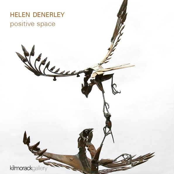 Positive Space sculpture by Helen Denerley