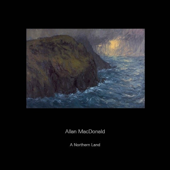 A Northern Land, work by Allan MacDonald