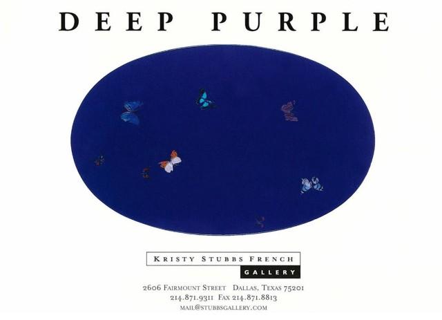 Deep Purple: Dreamy Mindscapes by Contemporary & Modern Masters, Damien Hirst Fantin-Latour Robert Rauschenberg Roy Lichtenstein Kenneth Noland