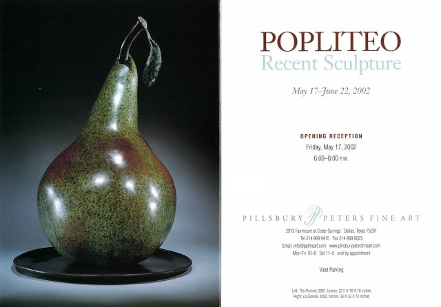 Popliteo, Recent Sculpture