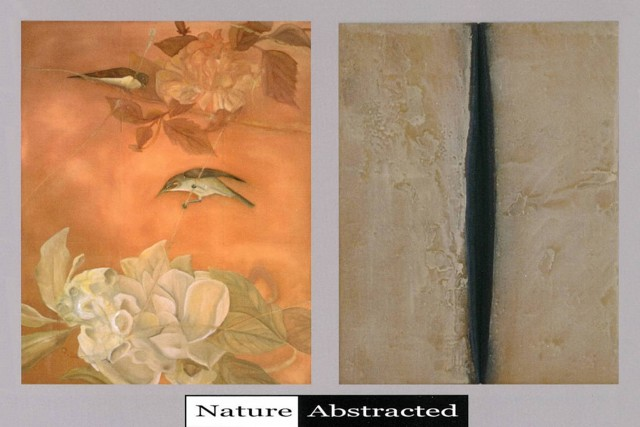 Nature Abstracted, Robyn Geddes, Kathie Cox, Scott Carroll
