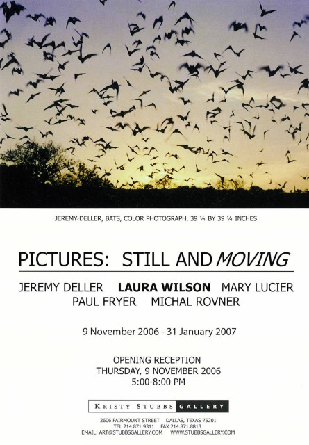 Pictures: Still and Moving, Jeremy Deller, Laura Wilson, Mary Lucier, Paul Fryer, Michal Rovner