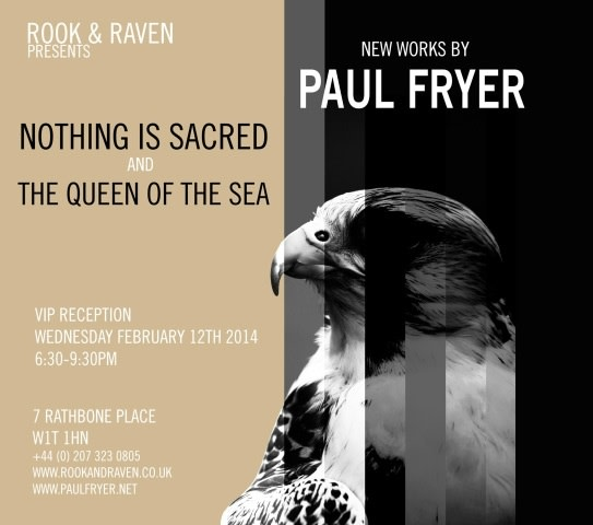 Paul Fryer: Nothing is Sacred and The Queen of the Sea