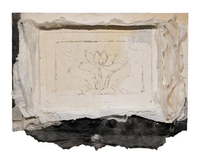 Lin Yan  Return Home #2, 2015  Xuan Paper and Ink  35 x 45 x 5cm