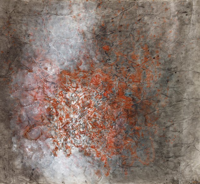 Lalan Untitled, 1992 Mixed media on paper 62 x 69.5cm