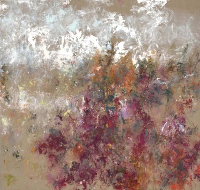 Myonghi Camellia, 2018 Oil on canvas 170 x 180cm