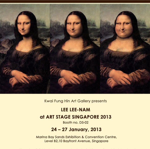 Lee Lee Nam, Art Stage Singapore