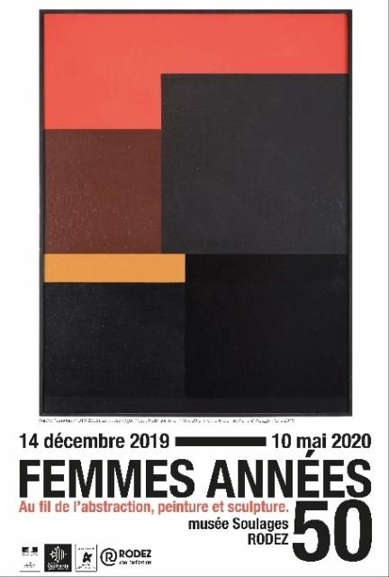 Lalan's works at Femmes années 50. Au fil de l'abstraction, peinture et sculpture