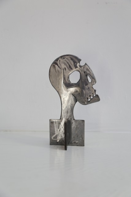Tøru Harada, Bone to Bone, Iron, 19 × 11 × 7.5 cm, 2015