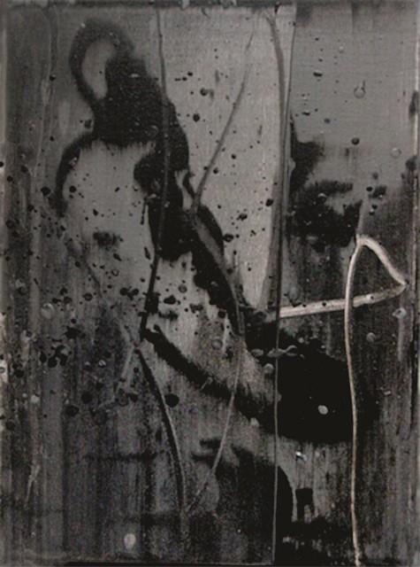 Li Lei 李磊 Listening to the Cicadas 6 听蝉 6 Acrylic on Canvas 40 x 30 cm, 2010