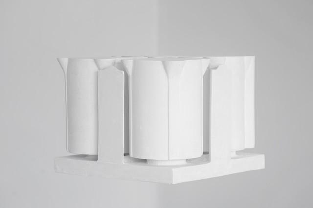 吴厚挺, 间隙, 石膏 Wu Houting, Gap, Plaster 43.5x25x18.6cm 2019