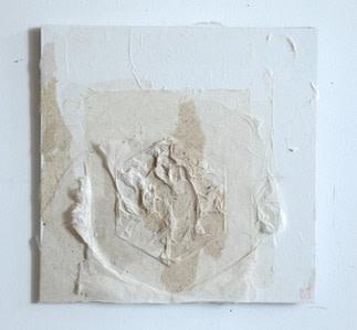 202002 #7,2020 纸本、水墨、畫板 30.5 x 30.5 cm