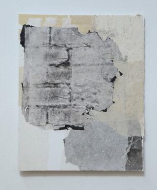 202002 #9,2020 纸本、水墨、畫板 50.8 x 40.6 cm