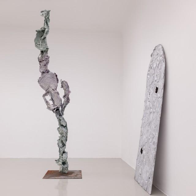 """Exhibition View """"Spiel gerade Höllentor"""", 2016"""