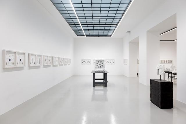 Installation View Markus Redl, MUDRAS, Galerie Lisa Kandlhofer, 2017
