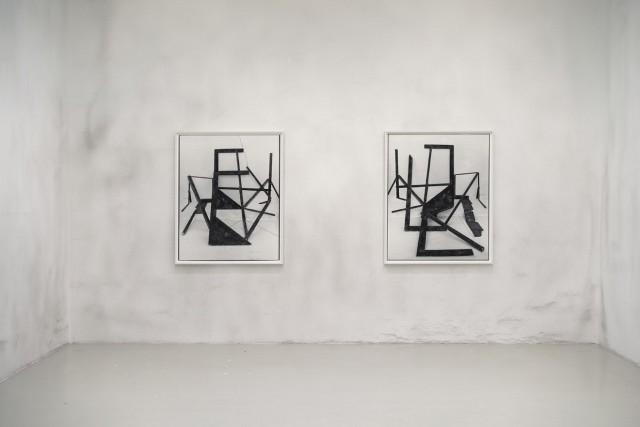 Installation view: Rodrigo Valenzuela, American Type, Galerie Lisa Kandlhofer, 2018