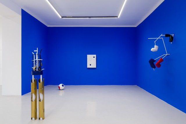 Installation view: George Henry Longly, Benthos, Galerie Kandlhofer, 2019 Photo: kunst-dokumentation.com