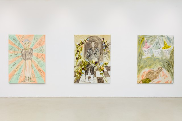 """Installation view: Faye Wei Wei """"If you sat for long enough you could see a flower bloom"""""""