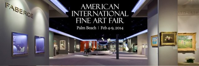 American International Fine Art Fair 2014, Palm Beach, Florida