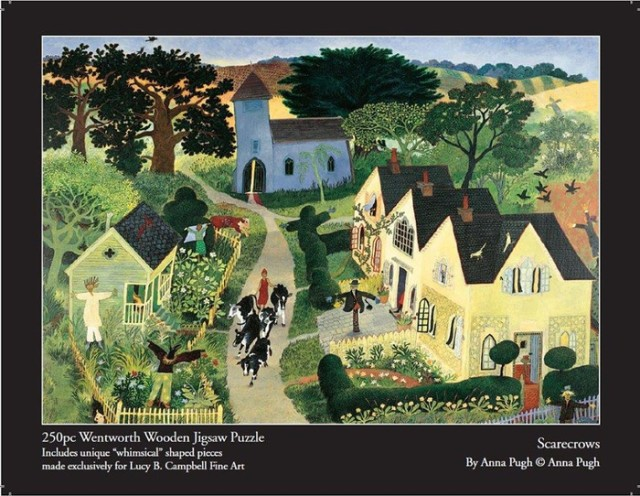 Anna Pugh Jigsaw Puzzle - OUT OF STOCK, Scarecrow - 250 piece puzzle
