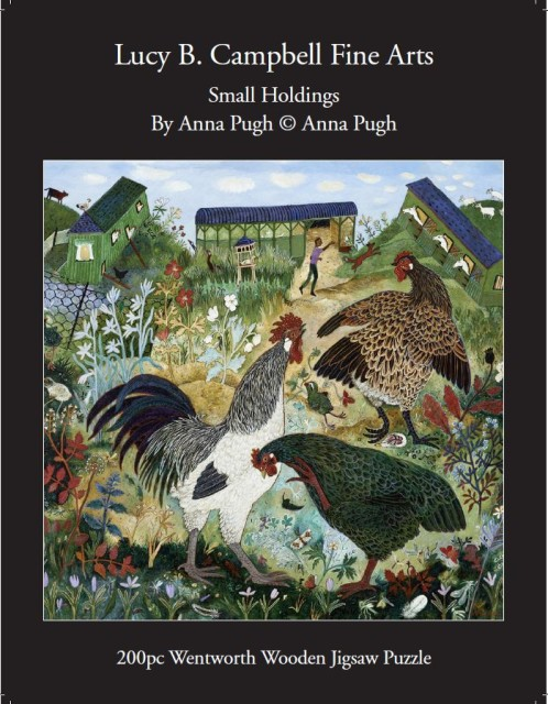 Anna Pugh Jigsaw Puzzle, Small Holdings - 200 piece puzzle