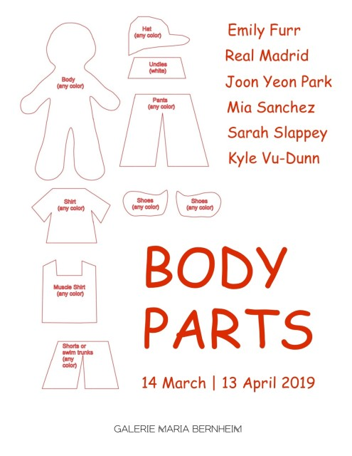 Body Parts, Emily Furr, Real Madrid, Joon Yeon Park, Mia Sanchez, Sarah Slappey, Kyle Vu-Dunn