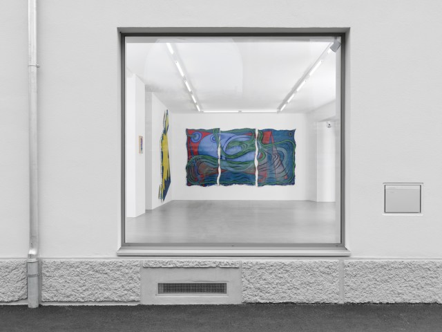 Midnight Special, 2000 oil on two canvases 236 x 329 cm 92 7/8 x 129 1/2 in