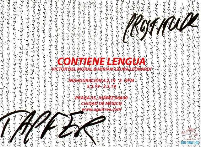 Miriam Laura Leonardi & Victor Del Moral   Duo Show - Contiene Lengua