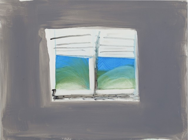 <p>Katie Darby Slater,&#160;<i>Grey Window</i>, 2015</p><p>Oil on panel, 9 x 12 in.</p><p>dar002</p>