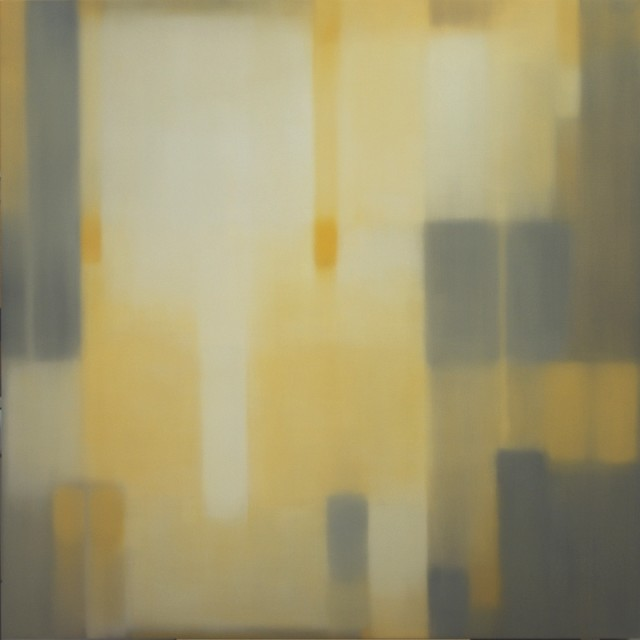 Julian Jackson  Crossing Grey, 2012  Oil on canvas  78 X 78 inches