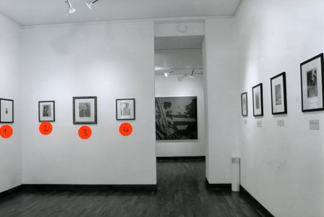 MAN RAY'S PARIS PORTRAITS Installation View