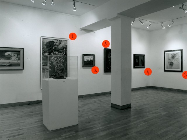MARK GLAZEBROOK Installation View
