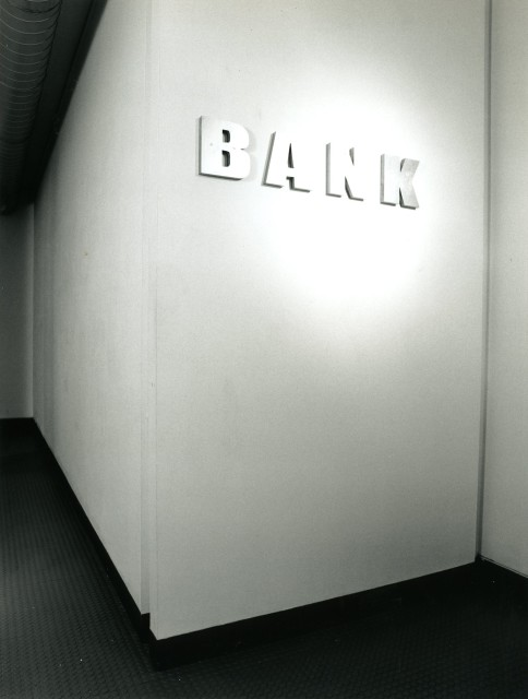 BANK Installation View
